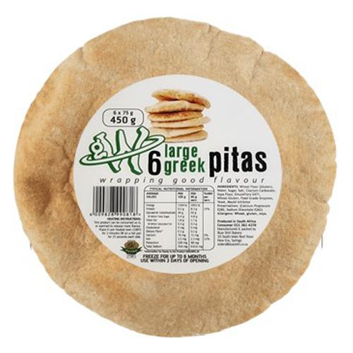 6-Large-Greek-Pita's-(18CM)-Global-Wraps-Pita's