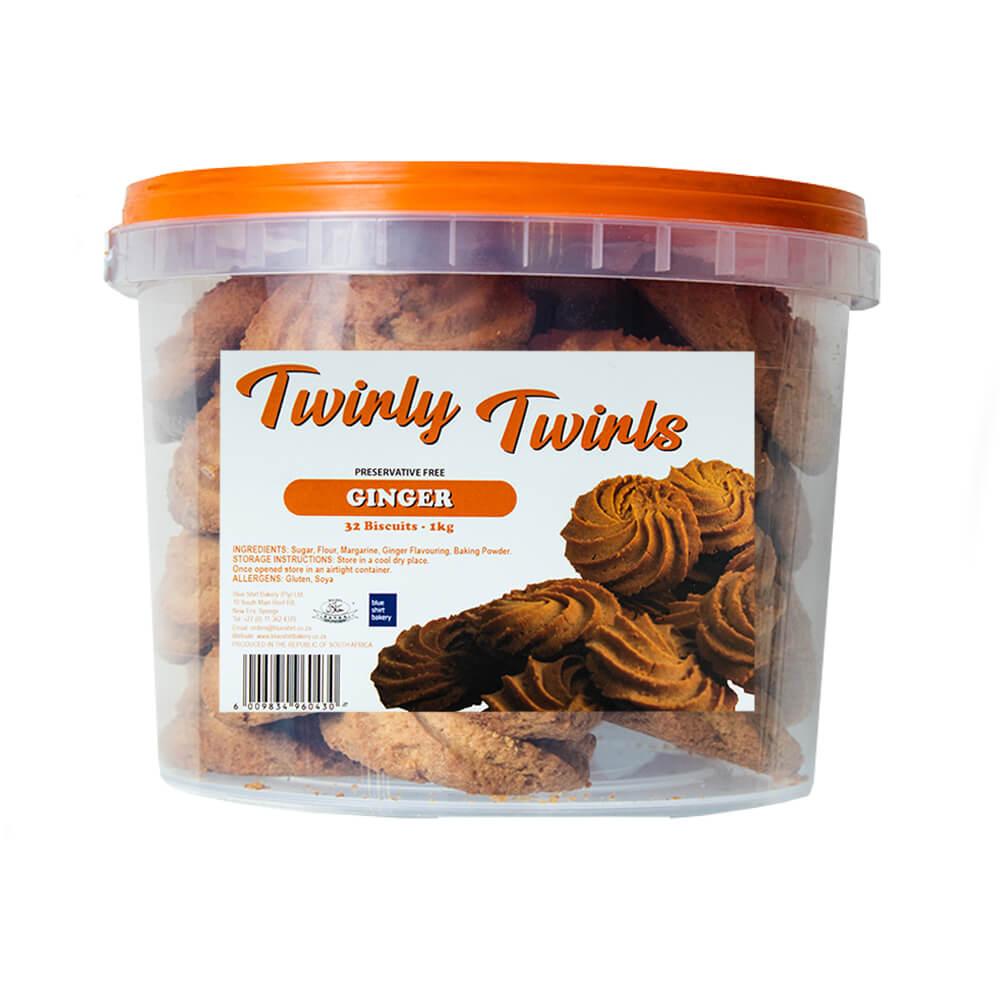 Twirly Twirls - Ginger (1kg)